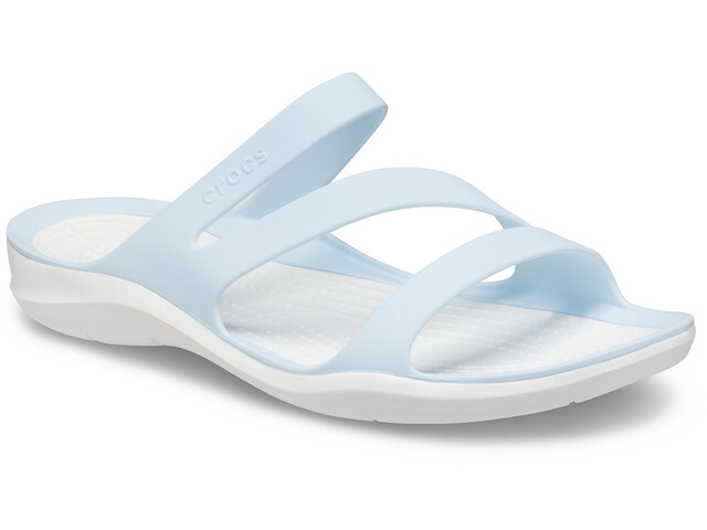 Crocs Swiftwater Sandalias Mujer, mineral blue